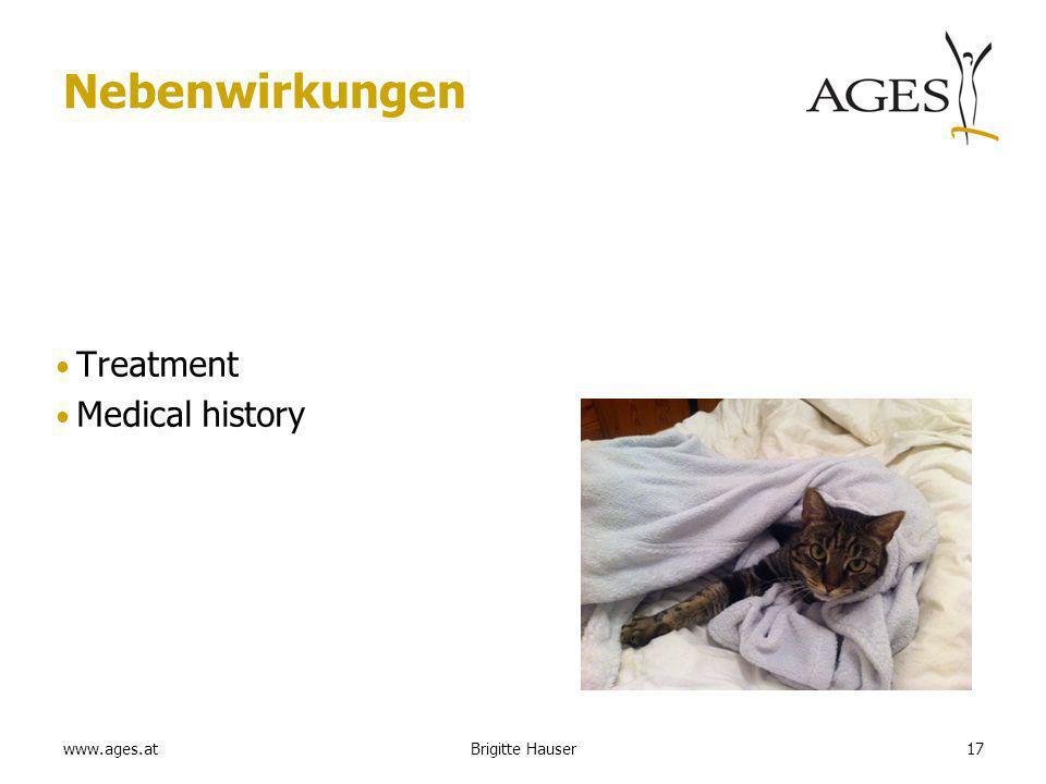 www.ages.at Nebenwirkungen Treatment Medical history Brigitte Hauser17