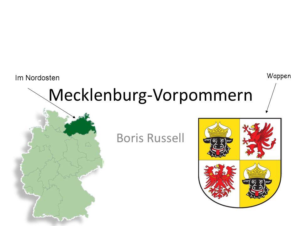 Mecklenburg-Vorpommern Boris Russell Wappen Im Nordosten