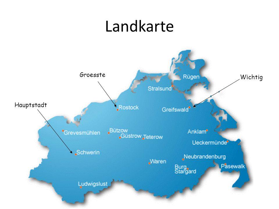 Landkarte Hauptstadt Groesste Wichtig