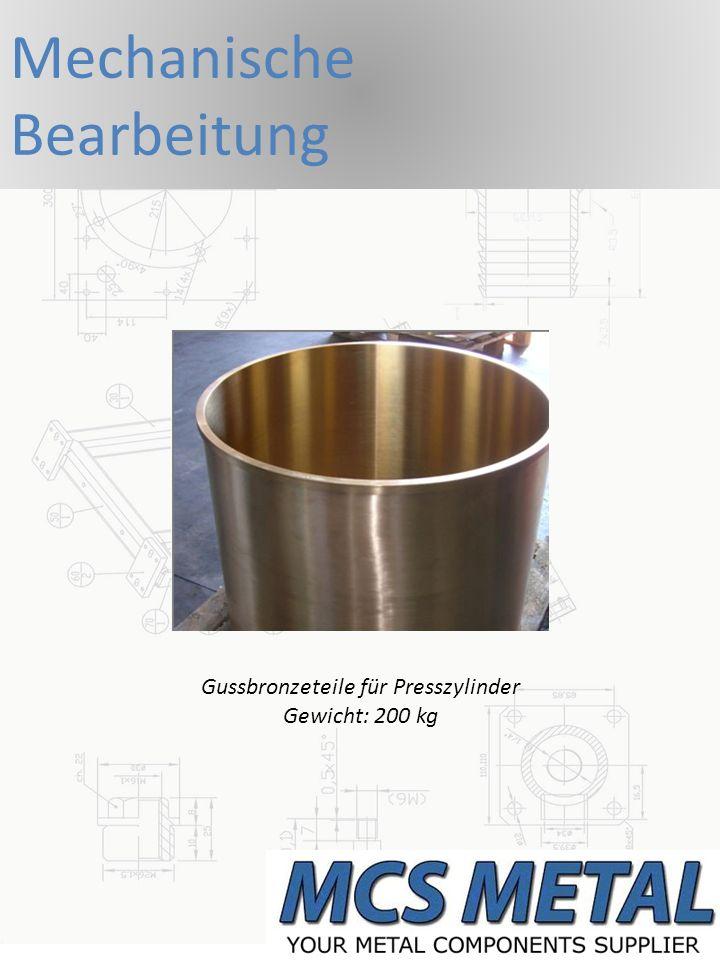 CNC Dreh- & Frästeile Mutter Gewicht ca.0,5 kg Gewindebolzen zum Teil mit Passungen Gewicht ca.
