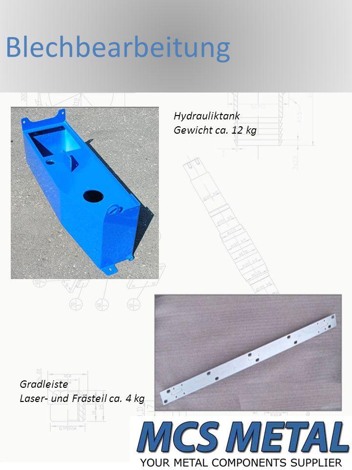Guß- und Schmiedeteile Pipes für Turbinenbau Gewicht ca.
