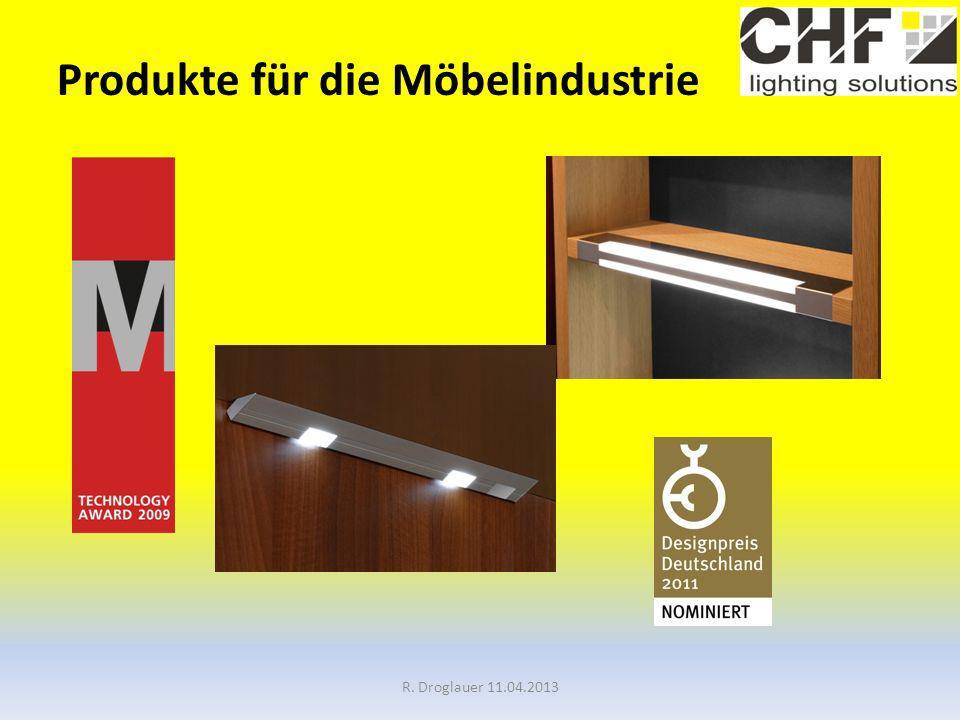 Produkte für die Möbelindustrie R. Droglauer 11.04.2013