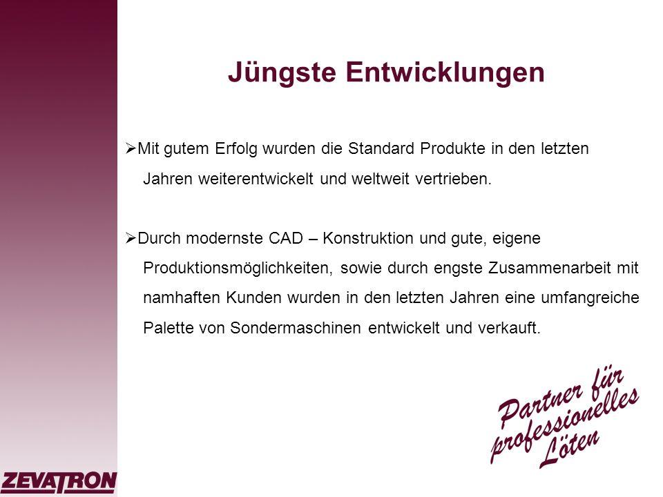 Qualität ist unser oberstes Gebot Selbstverständlich ist die ZEVATRON seit vielen Jahren nach DIN EN ISO 9001:2000 zertifiziert.