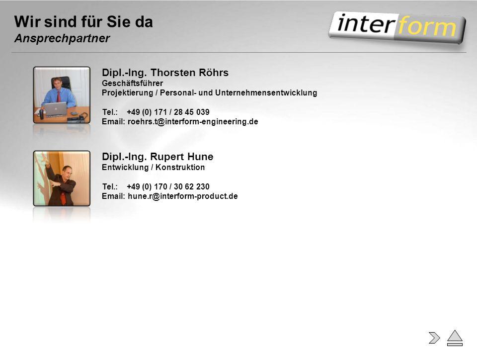 Wir sind für Sie da Ansprechpartner Dipl.-Ing. Thorsten Röhrs Geschäftsführer Projektierung / Personal- und Unternehmensentwicklung Tel.: +49 (0) 171
