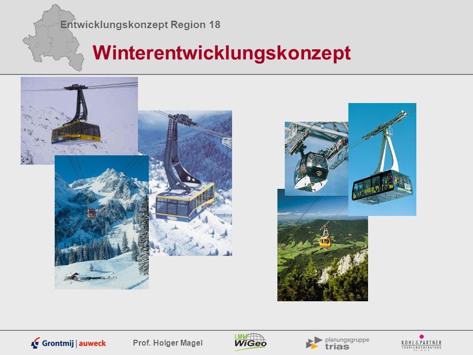 Entwicklungskonzept Region 18 Prof. Holger Magel Winterentwicklungskonzept