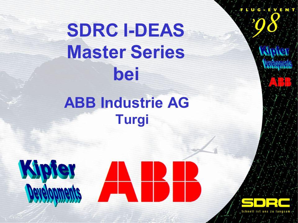 SDRC I-DEAS Master Series bei ABB Industrie AG Turgi