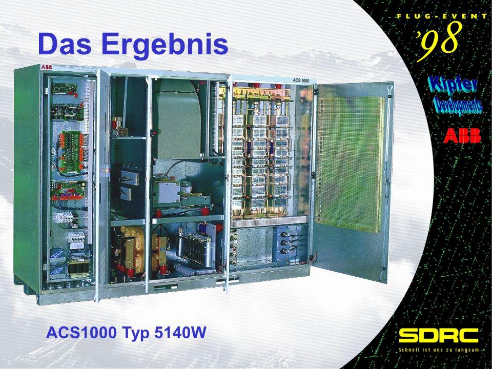 Das Ergebnis ACS1000 Typ 5140W