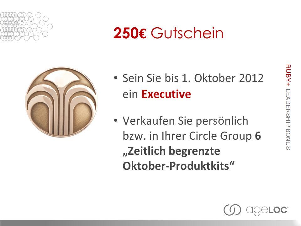 Sein Sie bis 1. Oktober 2012 ein Executive Verkaufen Sie persönlich bzw.