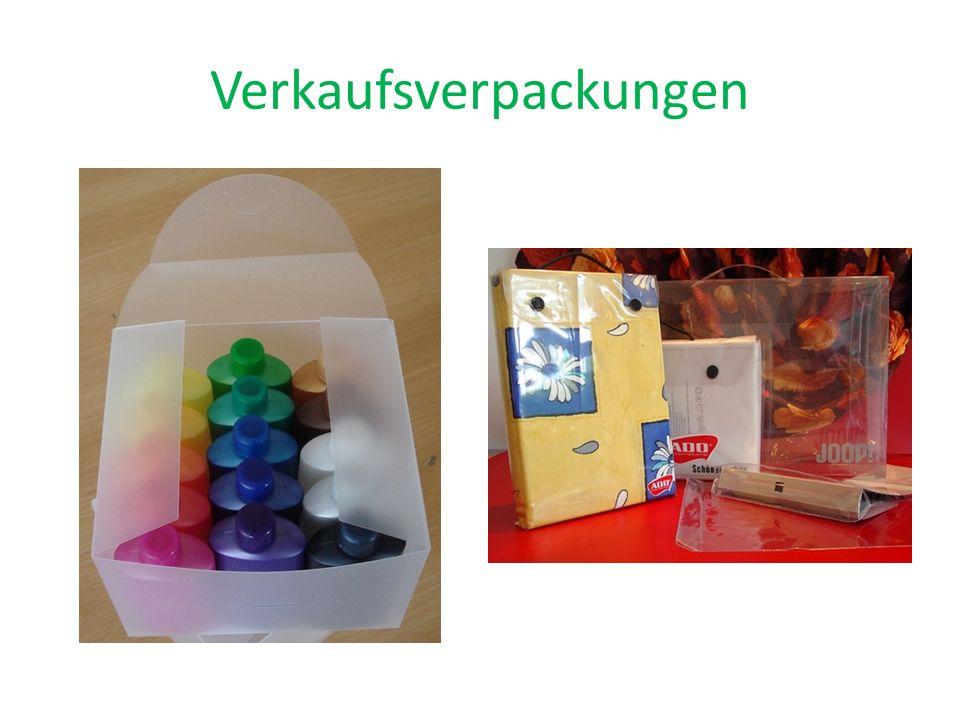 Verkaufsverpackungen