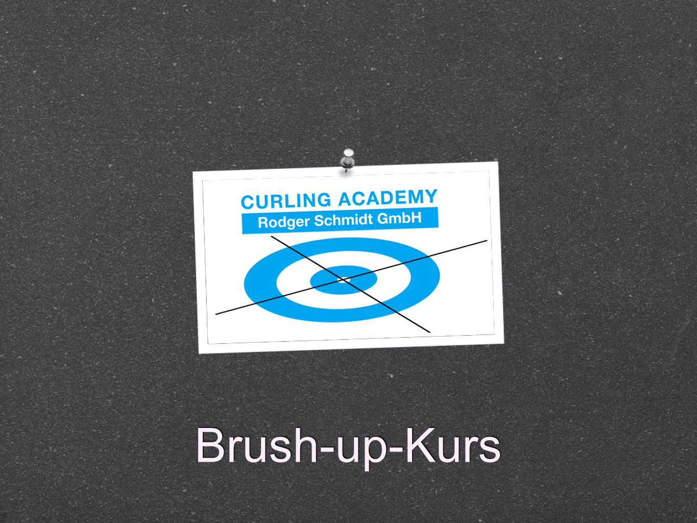 Brush-up-Kurs