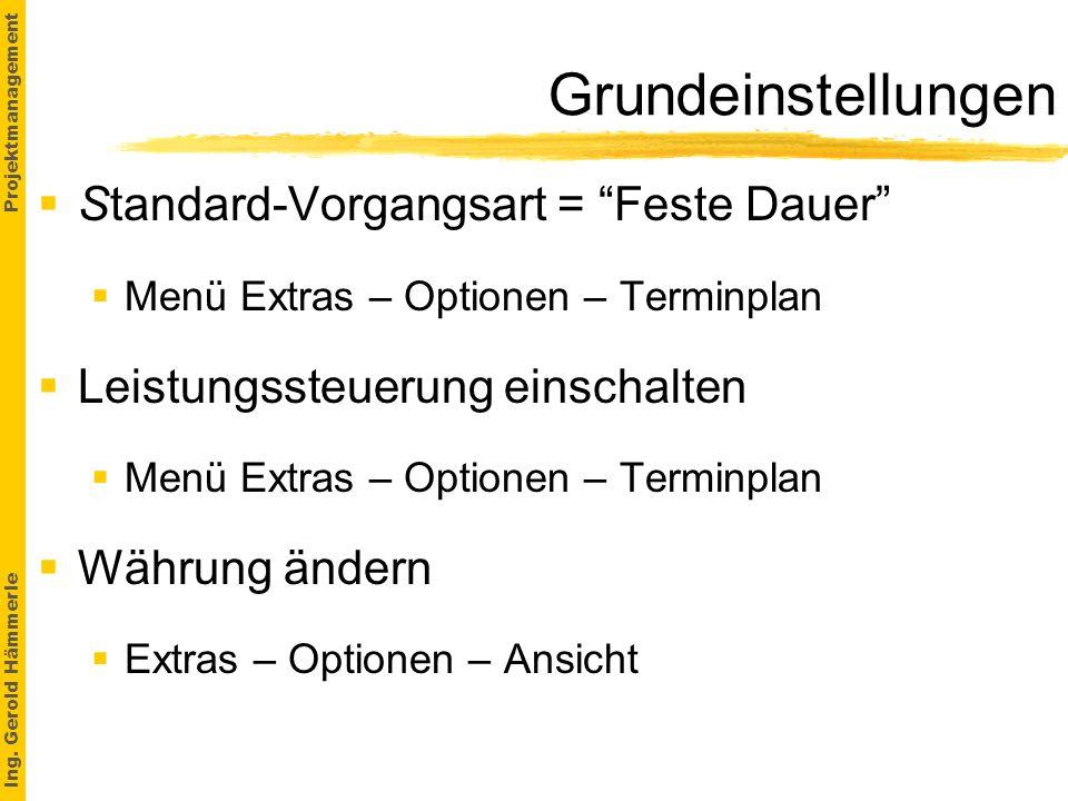 Ing.Gerold Hämmerle Projektmanagement 2.