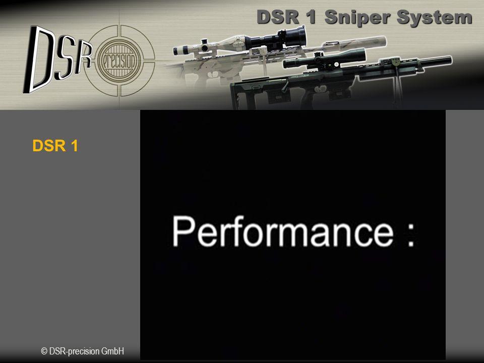 DSR 1 Sniper System © DSR-precision GmbH DSR 1