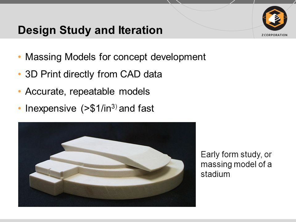 Design Study and Iteration Design Study of Critical Elements Communicate high definition detail and surface finish Study of stadium bowl and points of entry to a stadium