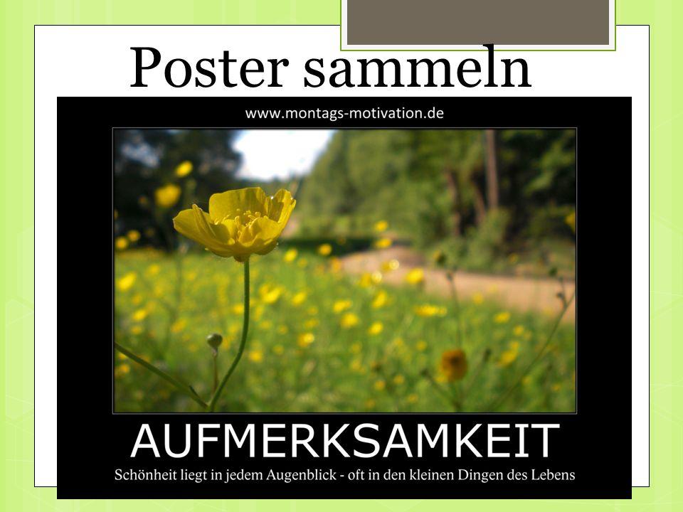 Poster sammeln