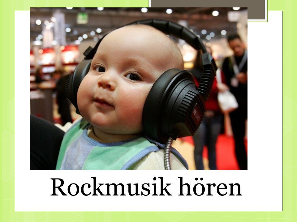 Rockmusik hören