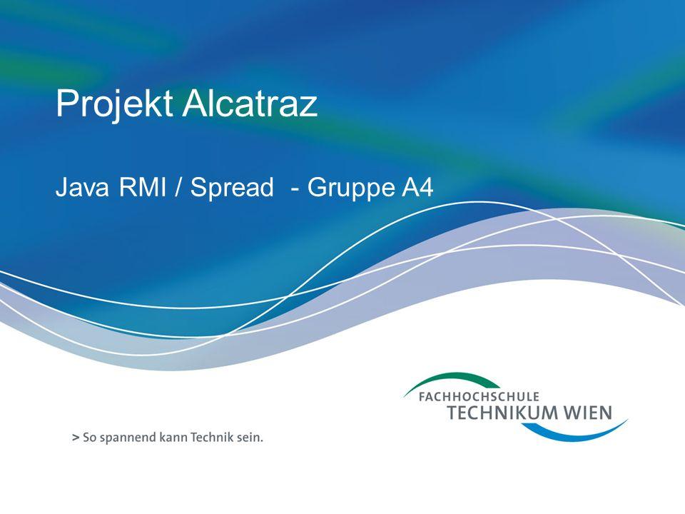 Projekt Alcatraz Java RMI / Spread - Gruppe A4