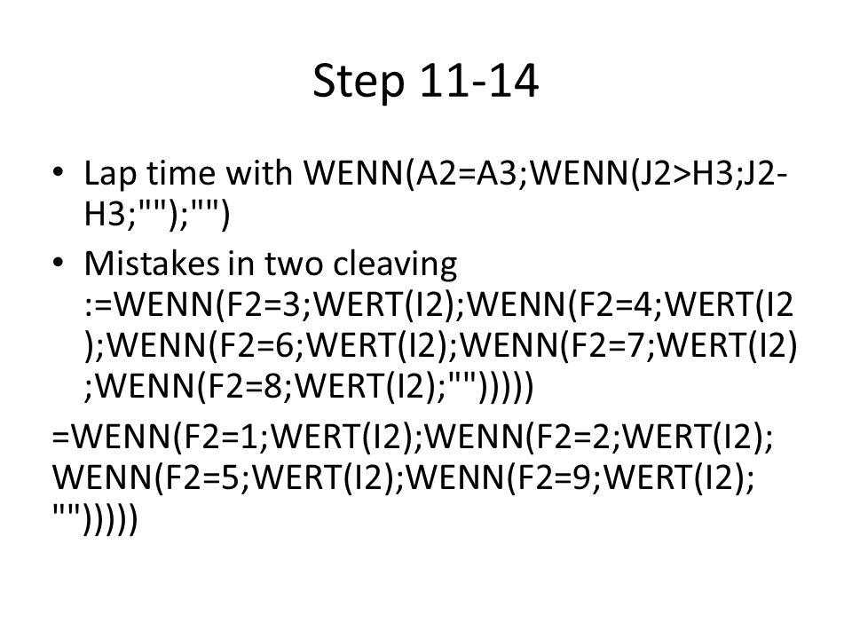 Step 13-14