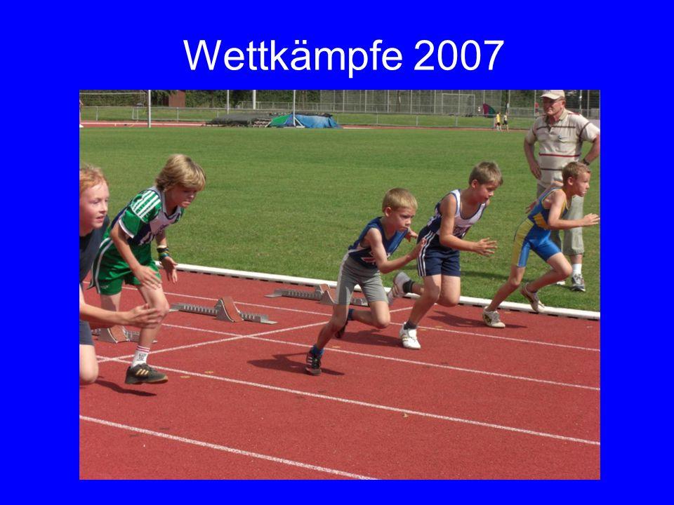 Wettkämpfe 2007