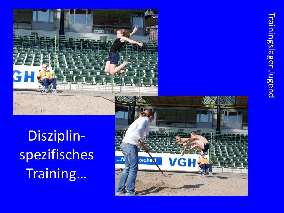 Trainingslager Jugend Disziplin- spezifisches Training…
