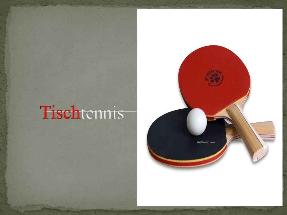 Tischtennis (auch als Ping-Pong bekannt) ist eine Sportart, in der zwei oder vier Spieler schlagen einen leichten Ball hin und her mit Schlägern.