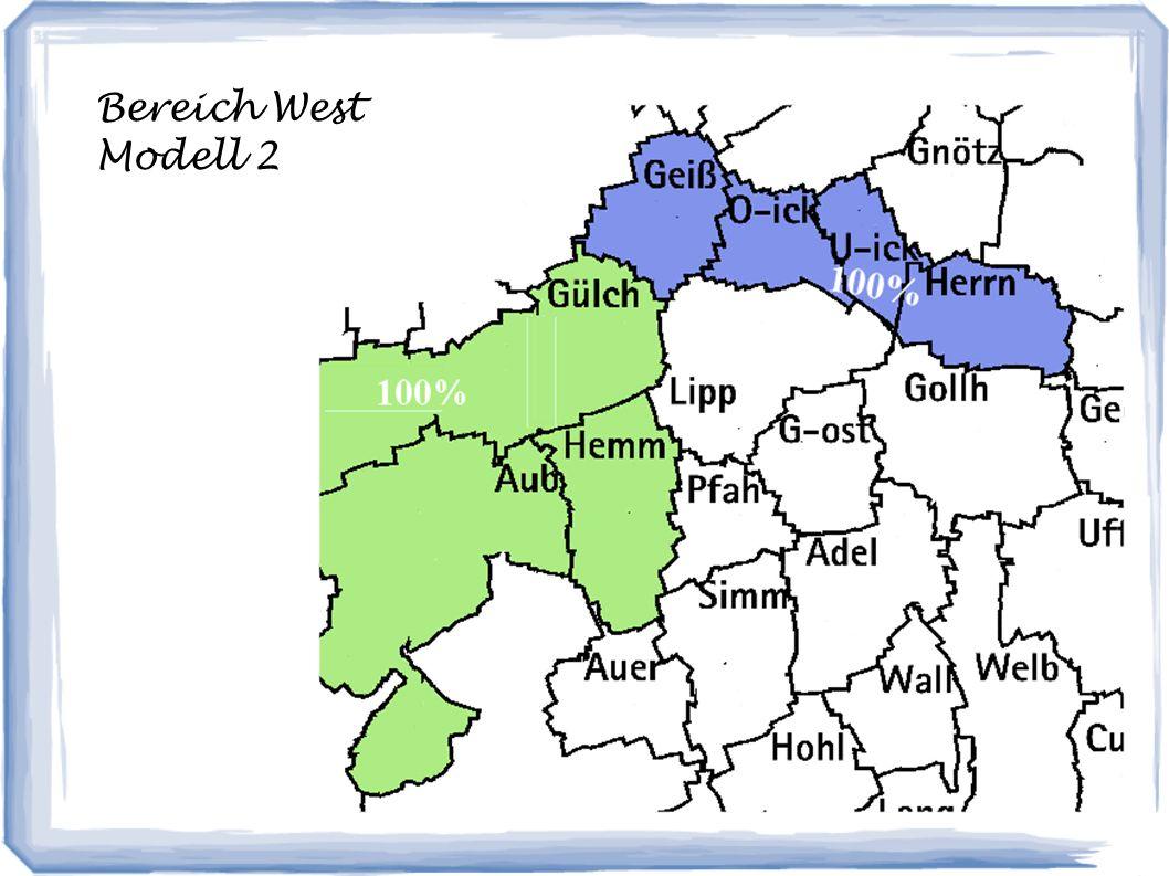 Bereich West Modell 2