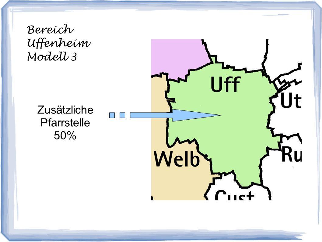 Bereich Uffenheim Modell 3 Zusätzliche Pfarrstelle 50%
