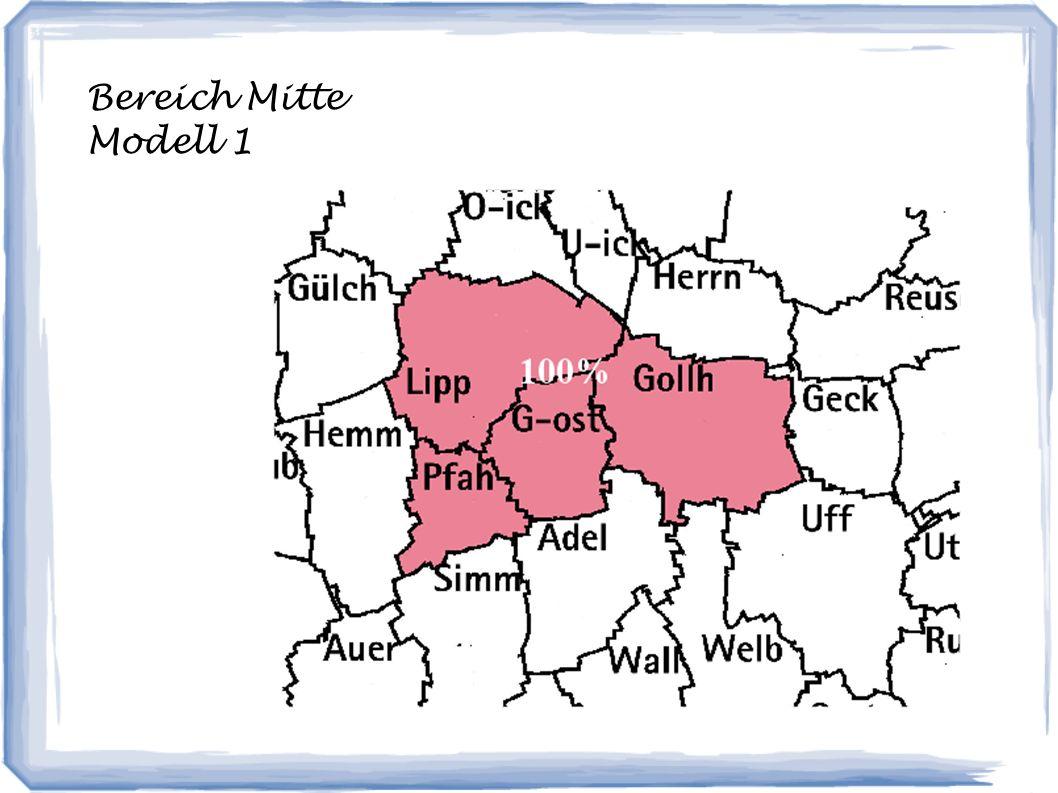 Bereich Mitte Modell 1