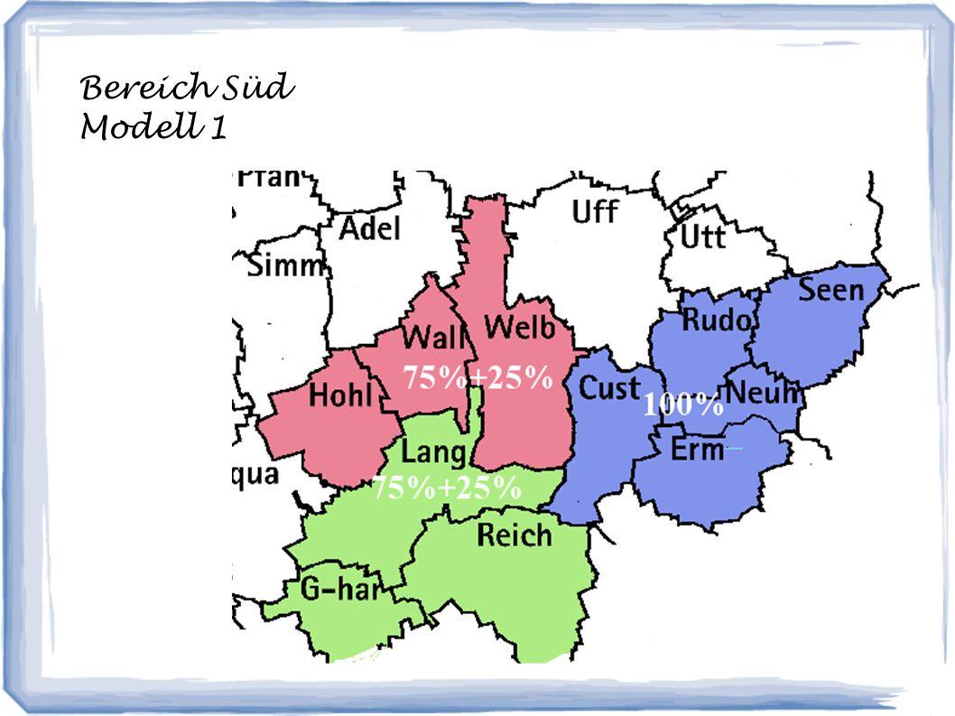 Bereich Süd Modell 1