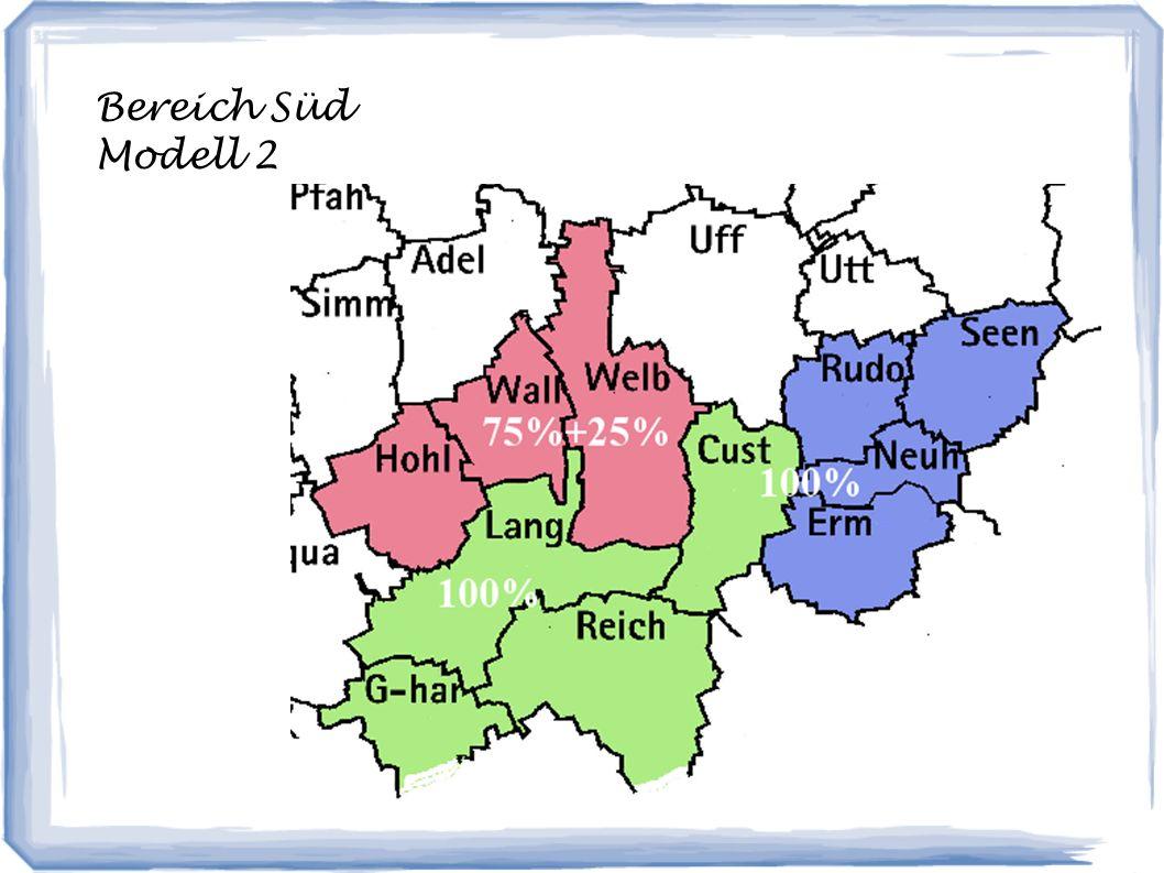 Bereich Süd Modell 2