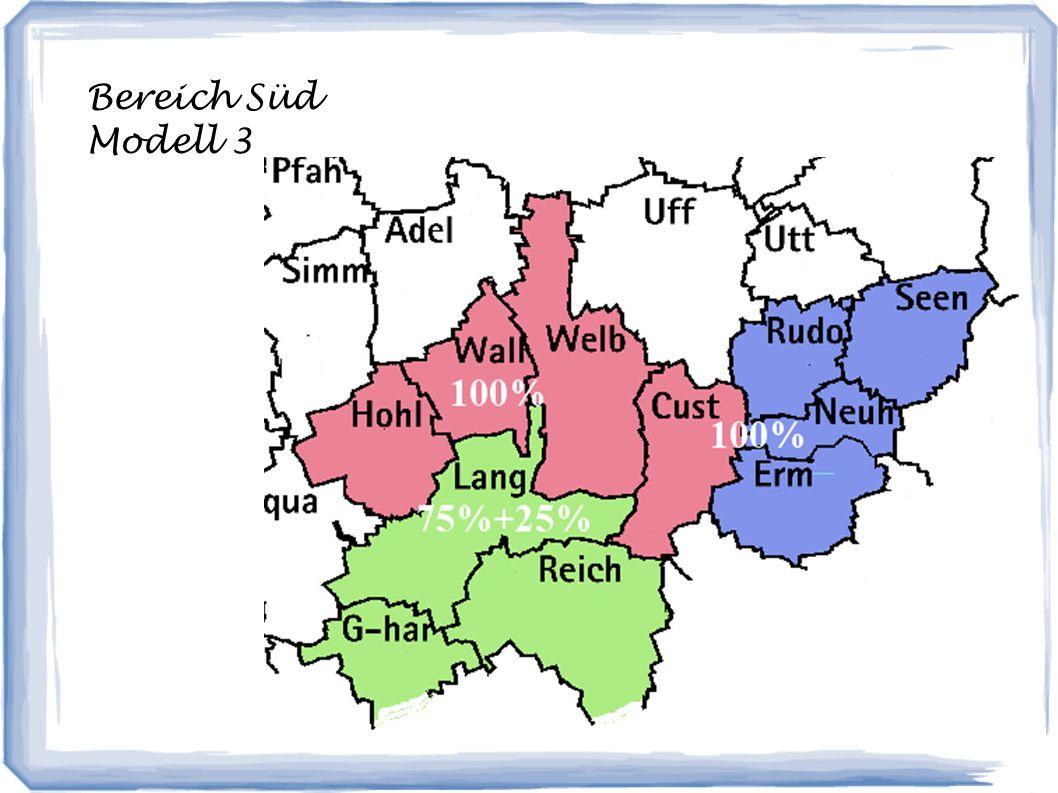 Bereich Süd Modell 3