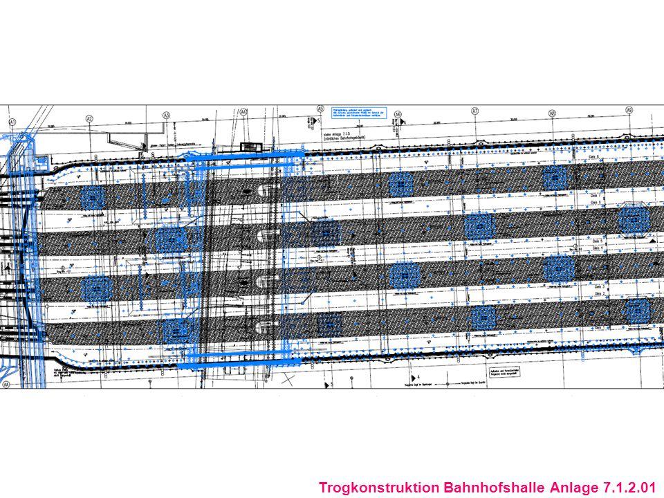 Trogkonstruktion Bahnhofshalle Anlage 7.1.2.01