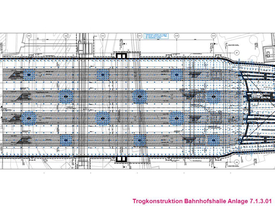 Längsschnitt Haltestelle Staatgalerie Anlage 7.7.8