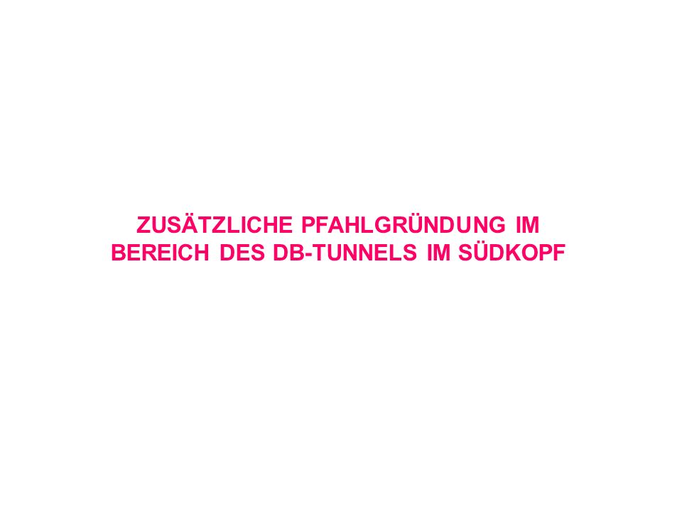 DB Tunnel Südkopf Anlage 7.1.4.1