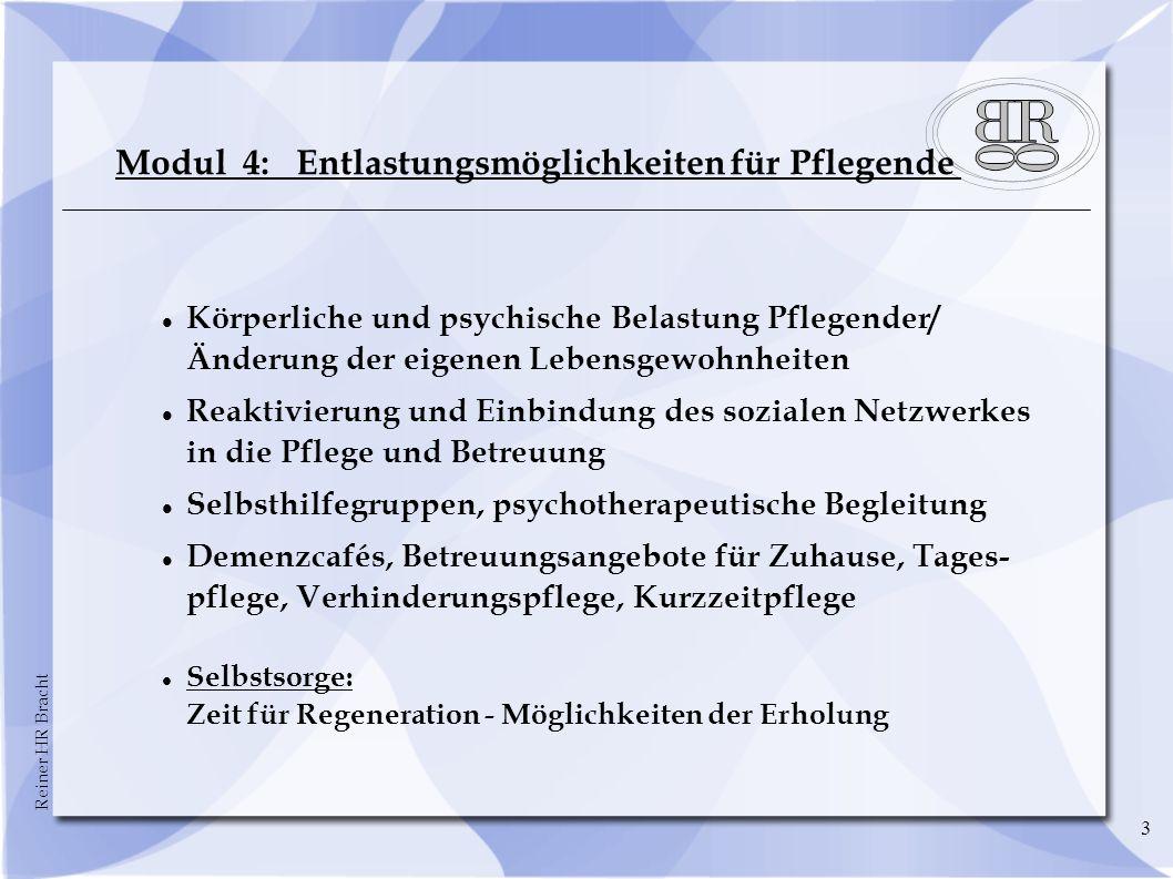 Reiner HR Bracht 14 Weitere Leistungen der Pflegeversicherung Stand 2o12 § 40 SGB XI: Pflegehilfsmittel und techn.