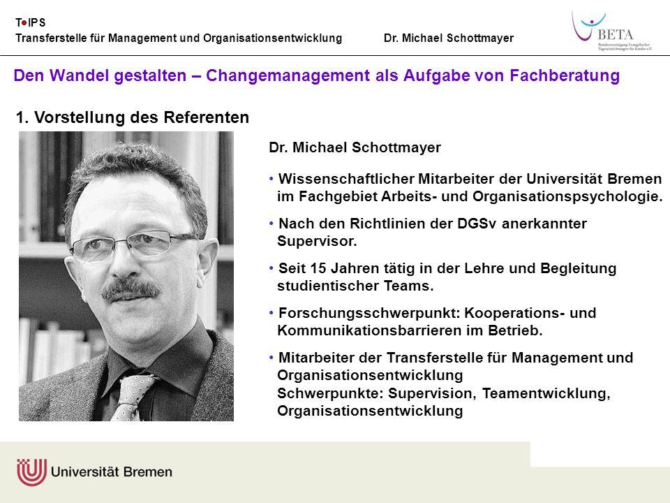 Transferstelle für Management und Organisationsentwicklung Dr.