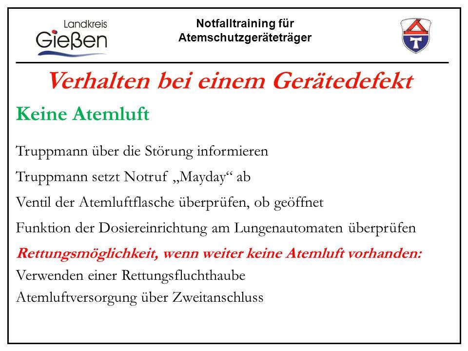 Notfalltraining für Atemschutzgeräteträger Die Atemschutzdokumentation Bei dem Atemschutzunfall in Tübingen, bei dem 2 Atemschutzgeräteträger zu Tode kamen, war zunächst nicht klar, wo sich die Geräteträger befanden .