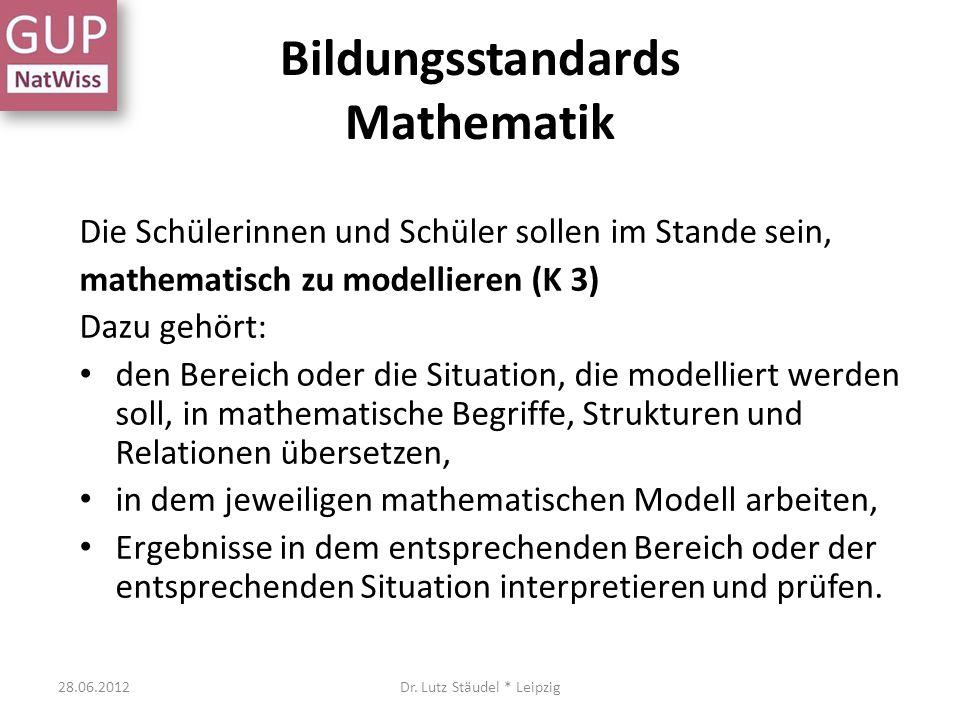 Nur in Gedanken 28.06.2012Dr. Lutz Stäudel * Leipzig Ein System modellieren