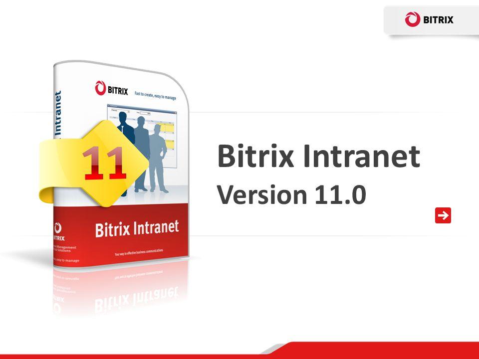 Bitrix Intranet Version 11.0