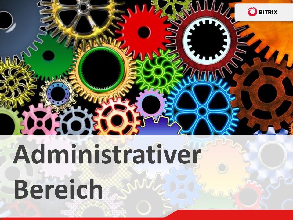Administrativer Bereich