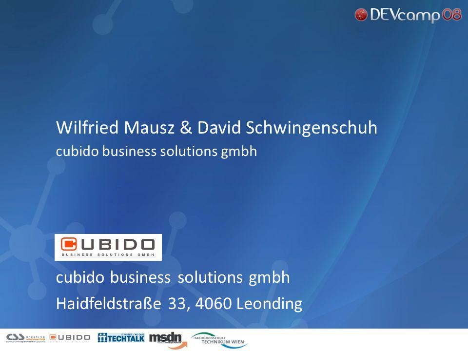 cubido business solutions gmbh Haidfeldstraße 33, 4060 Leonding Wilfried Mausz & David Schwingenschuh cubido business solutions gmbh enter the the pre