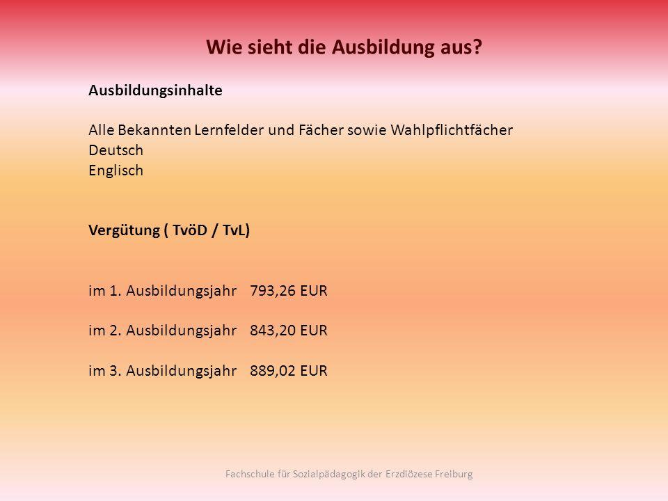 Wie sieht die Ausbildung aus? Ausbildungsinhalte Alle Bekannten Lernfelder und Fächer sowie Wahlpflichtfächer Deutsch Englisch Vergütung ( TvöD / TvL)