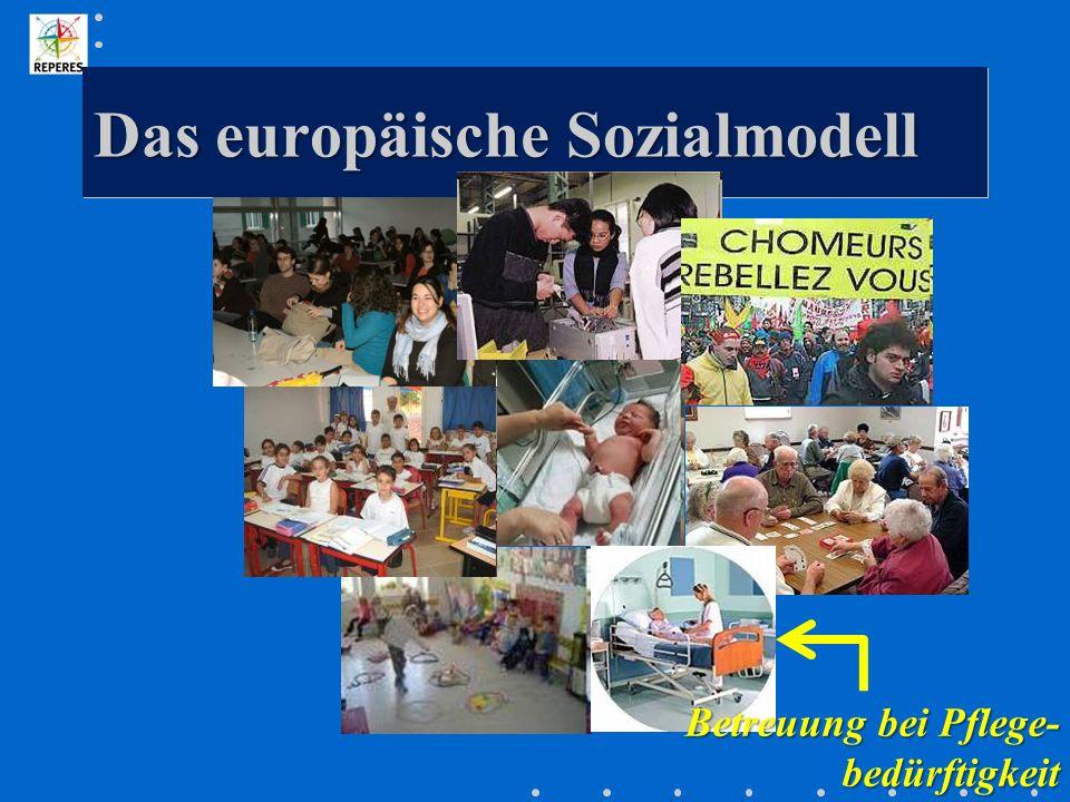 Das europäische Sozialmodell Betreuung bei Pflege- bedürftigkeit