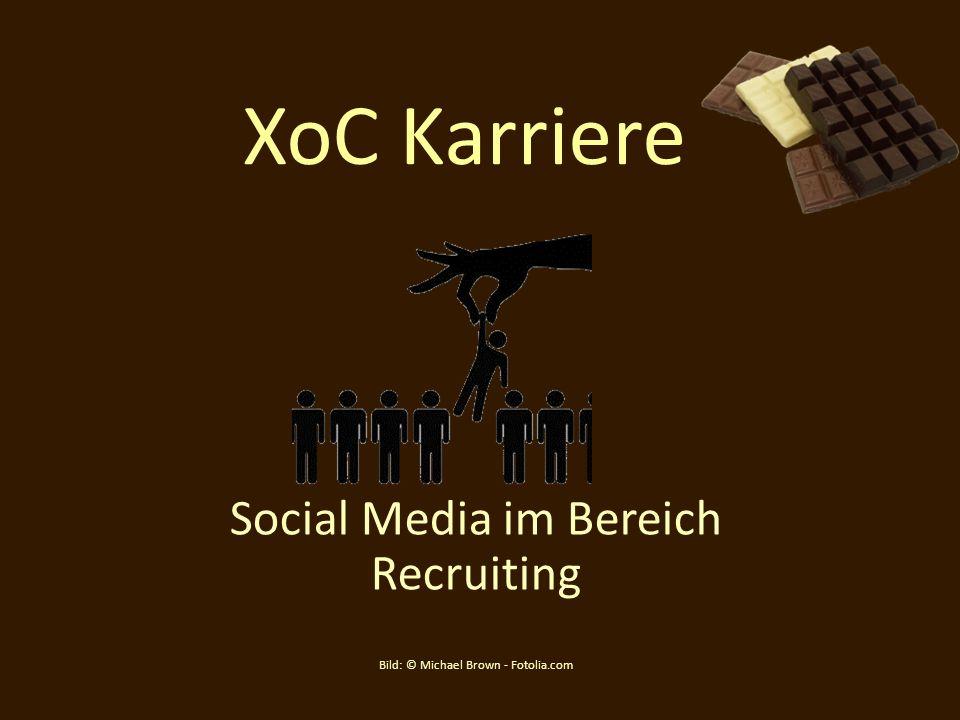XoC Karriere Social Media im Bereich Recruiting Bild: © Michael Brown - Fotolia.com