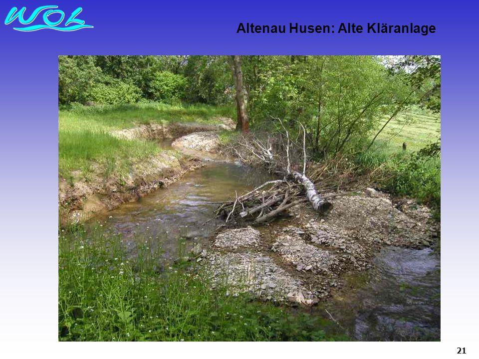 21 Altenau Husen: Alte Kläranlage