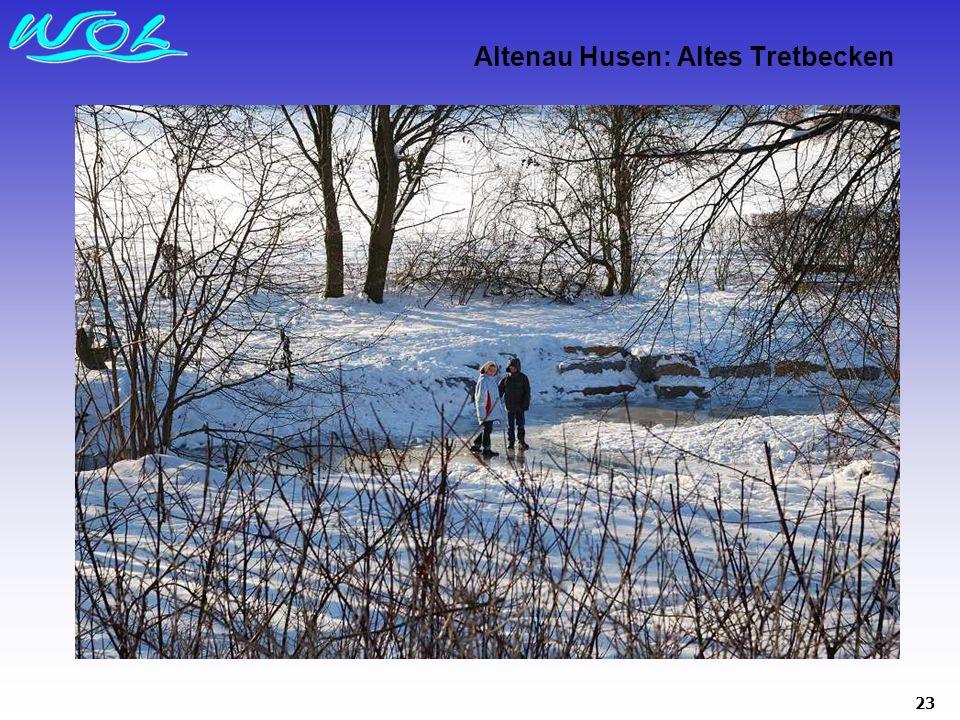 23 Altenau Husen: Altes Tretbecken