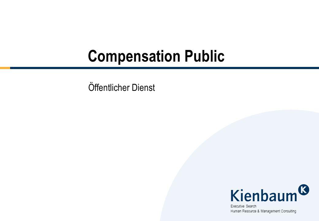 Executive Search Human Resource & Management Consulting Compensation Public Öffentlicher Dienst