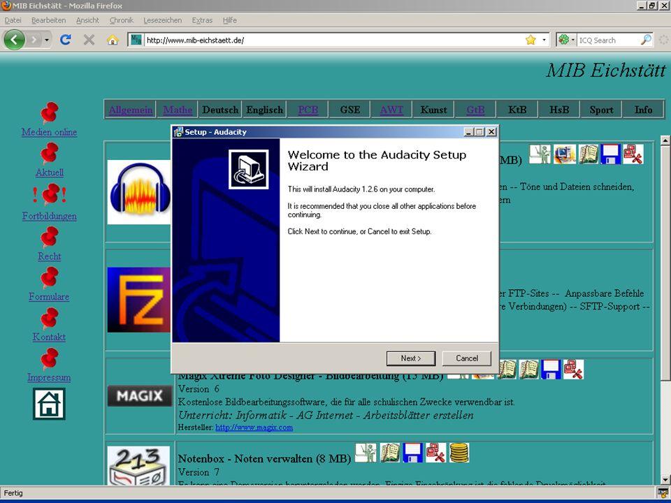 Audio Datei schneiden
