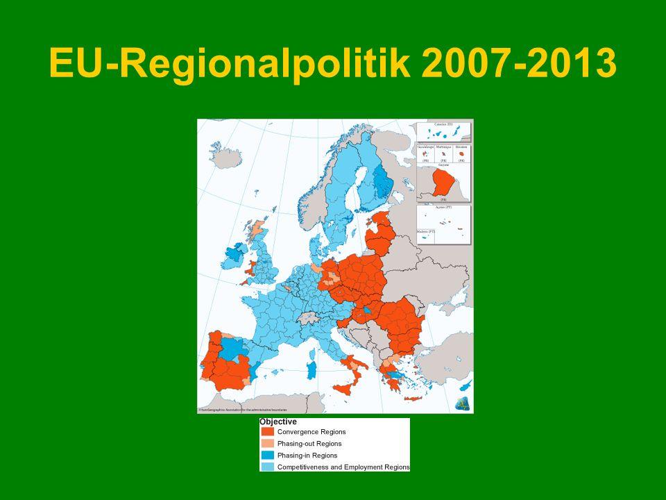 EU-Regionalpolitik 2007-2013