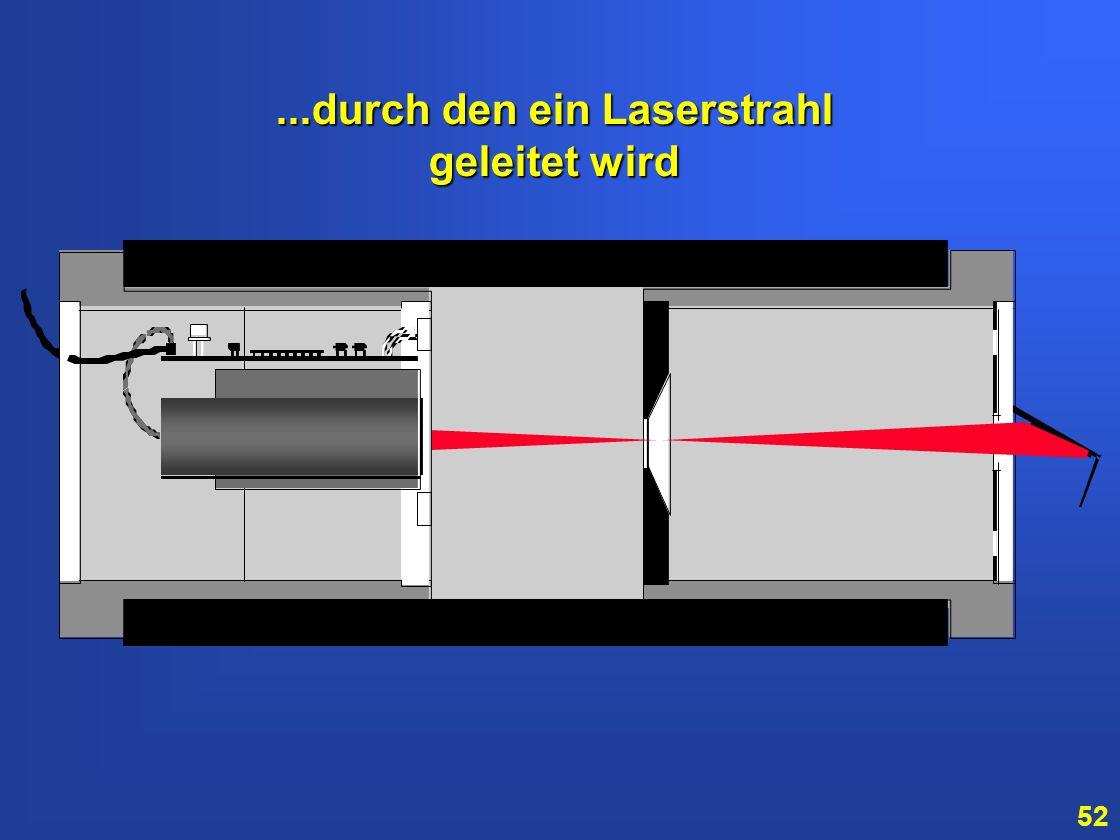 51 Die Stratos-Melderkammer besteht aus einer Lasereinheit und einem besonderen Spiegel...