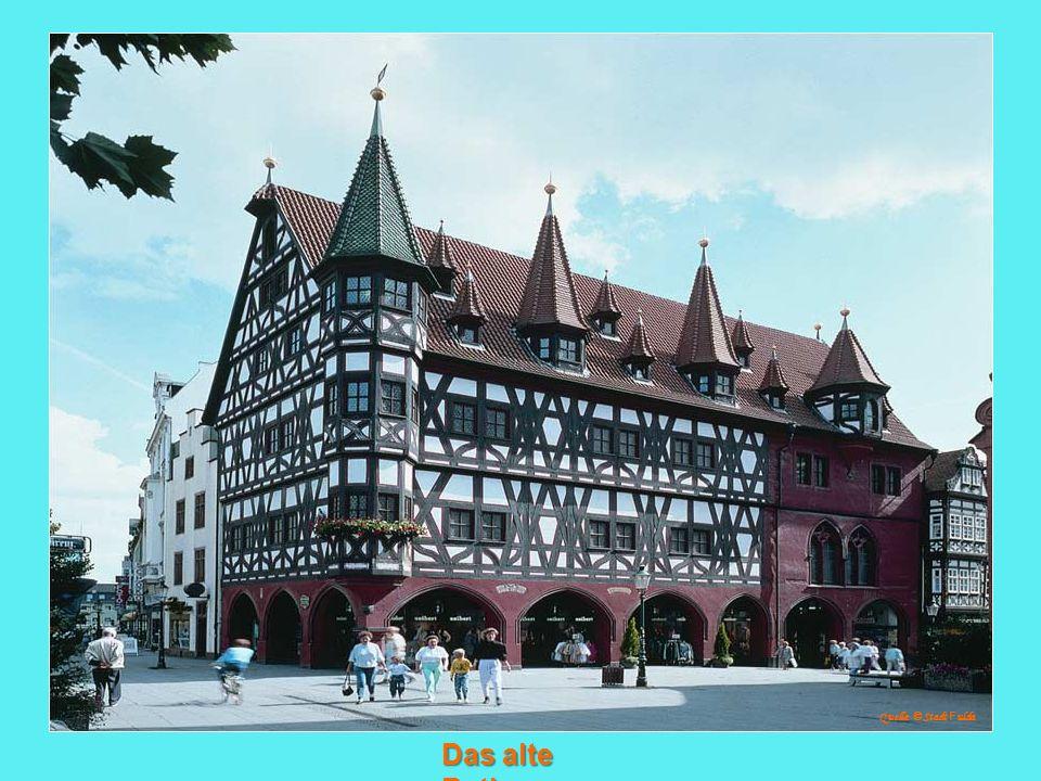 Das alte Rathaus Quelle: © Stadt F ulda